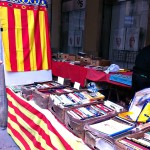 Bücherstand in Girona