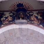 Mahlerei in der Nähe der Kathedrale von Girona