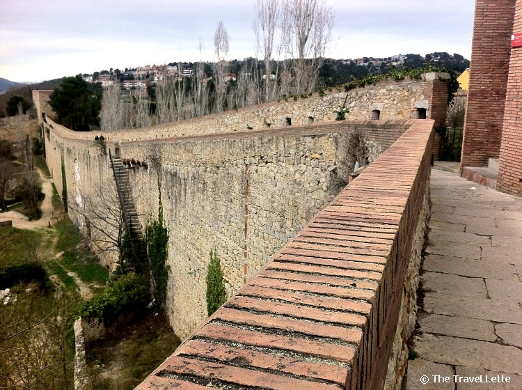 Stadtmauer von Girona