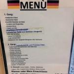 Speisekarte gibt es auch auf DeutschSpeisekarte gibt es auch auf Deutsch
