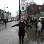 Camden Market Schnee