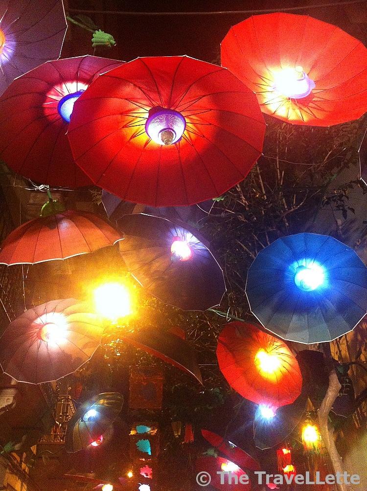 Regenschirm Fiesta de Gracia