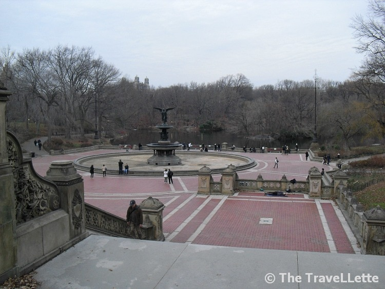 Central Park Bethesda Terrace New York