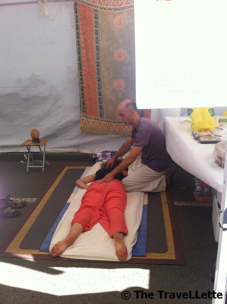 Massage Stand La Merce