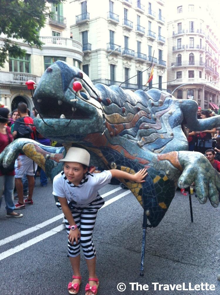 Parade La Merce
