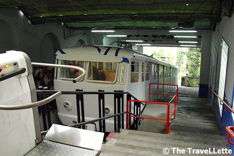 Funicular Tibidabo Barcelona