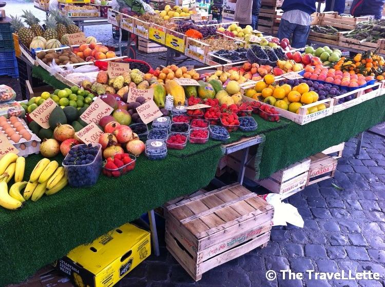 Obst Markt Rom