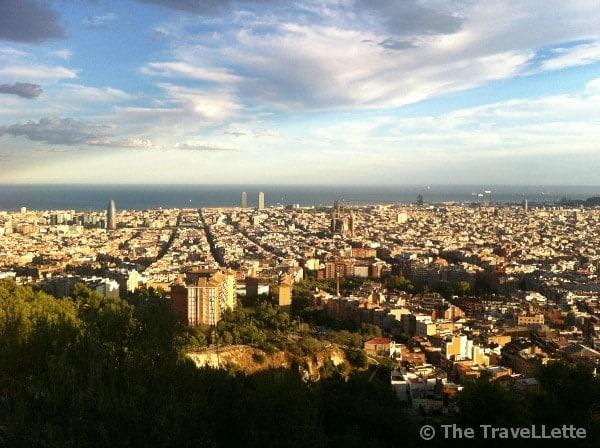 Aussicht Bunker Barcelona