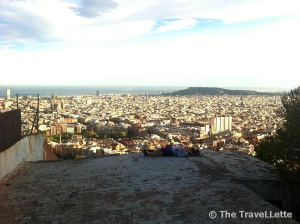 Ausblick Bunker Barcelona