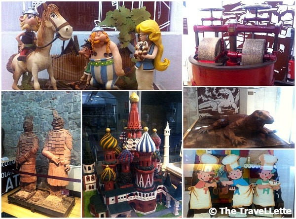 Schokoladen Museum Barcelona Collage