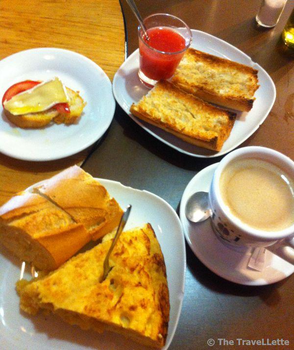 Frühstück Madrid