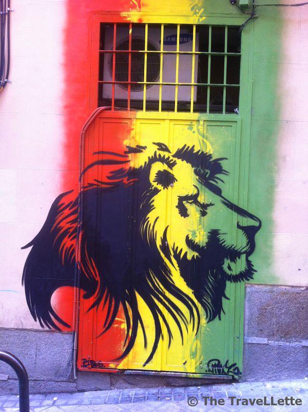 Streetart La Latina Madrid