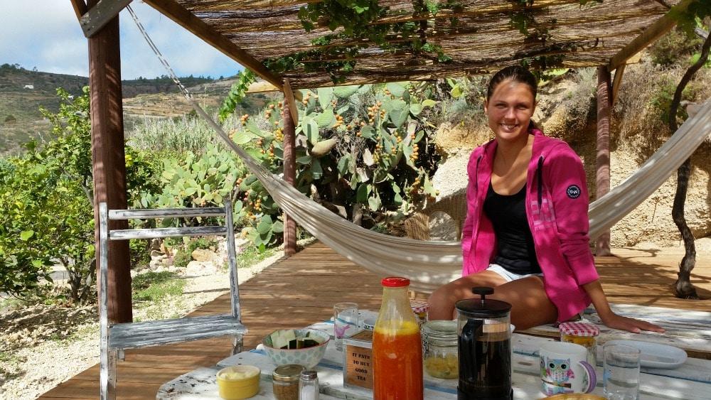 Frühstück Unterkunft Teneriffa