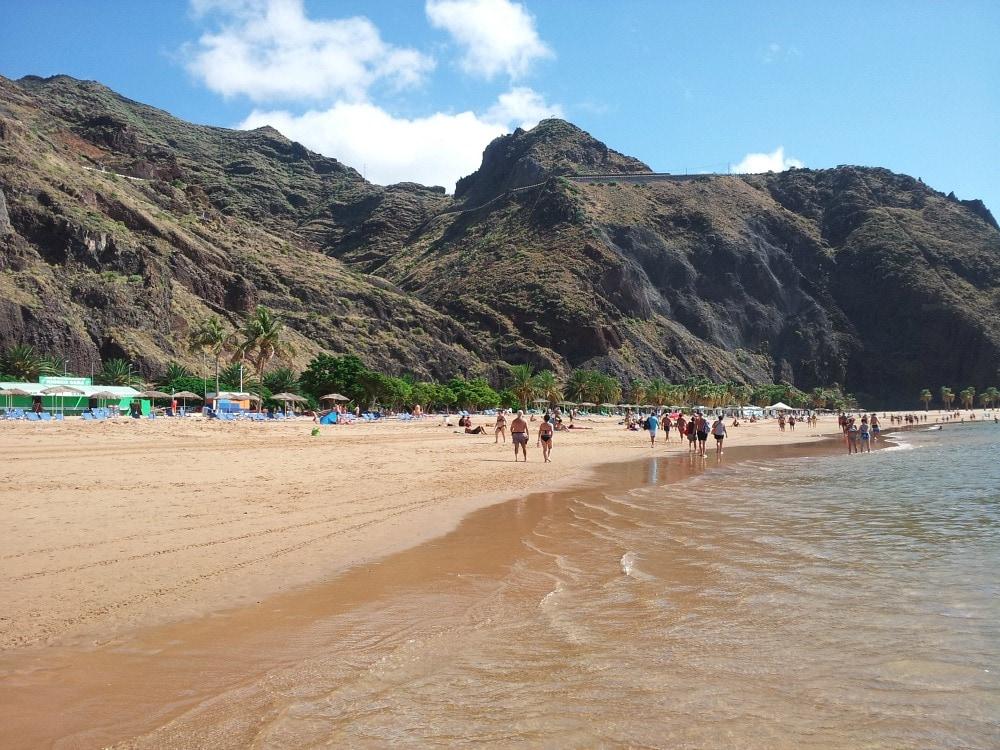 Playa de las Teresitas Strand Teneriffa