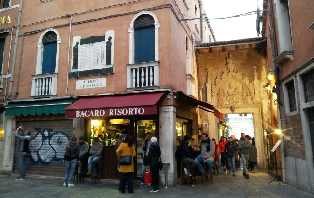 Bacaro Risorto Venedig