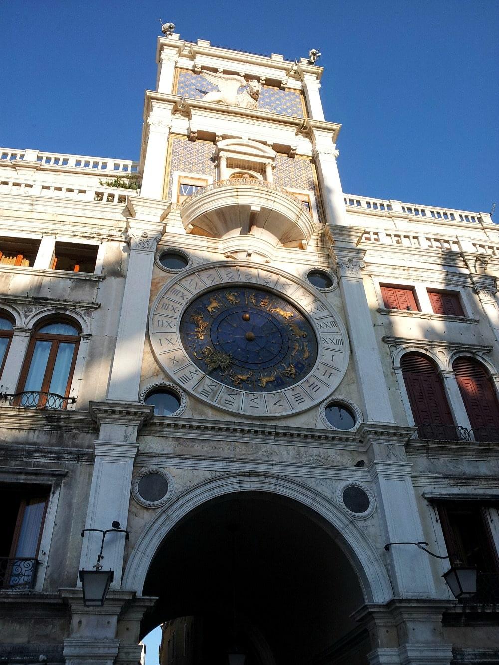 Markusturm Markusplatz Venedig