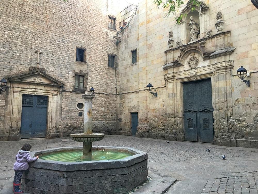 Placa de San Felip Neri Barcelona Insider Tipps