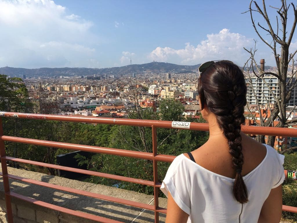 Miramar Barcelona Aussicht Sehenswürdigkeiten
