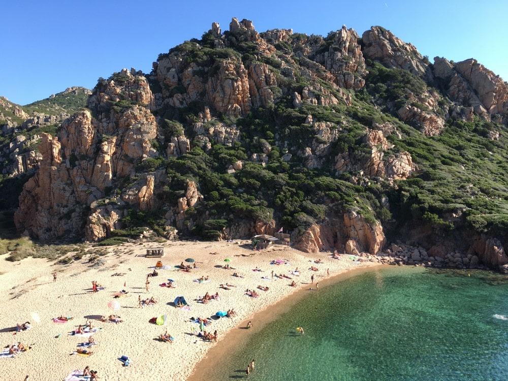 Sardinien Reisetipps - Strand Spiaggia Li Cossi