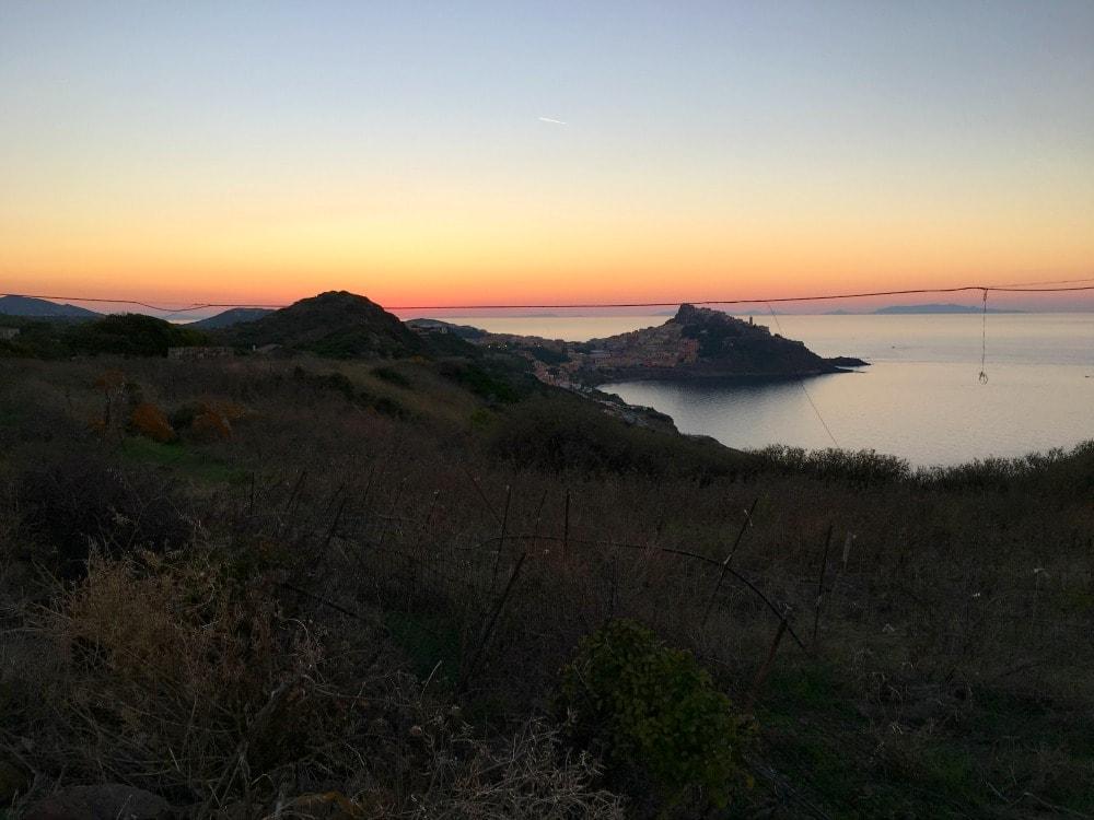 Sardinien Reisetipps - Castelsardo Sonnenuntergang