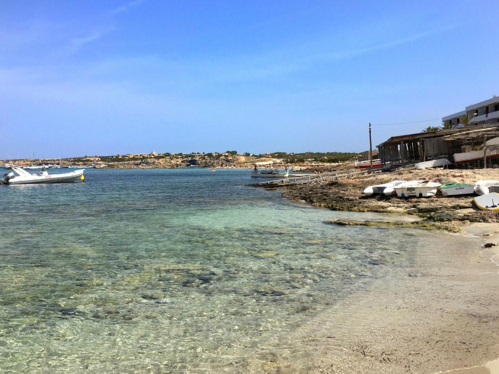 Playa Es Pujols Formentera Guide Straende