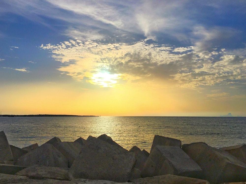 Sonnenuntergang Formentera Guide Straende