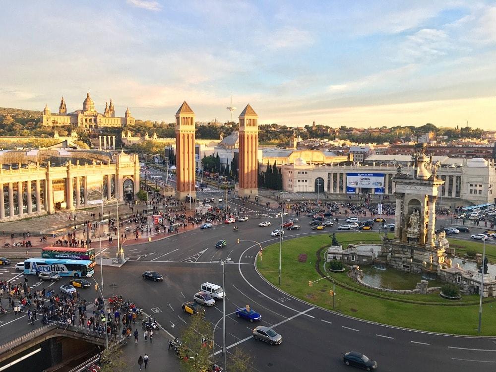 Hotel Terrassen Barcelona Aussichtspunkte