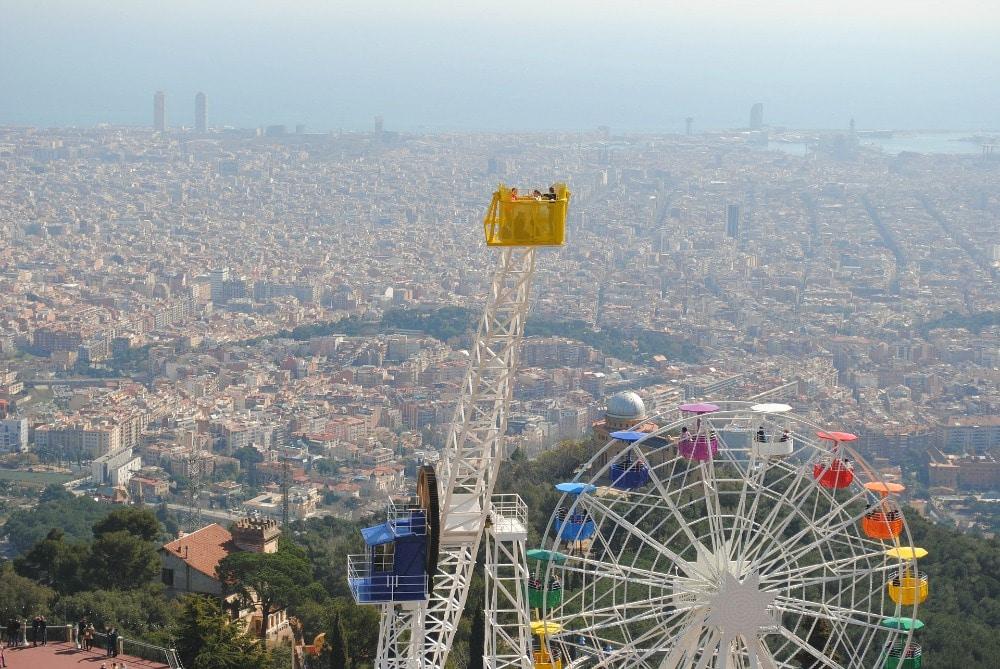 Tibidabo Aussichtspunkte Barcelona