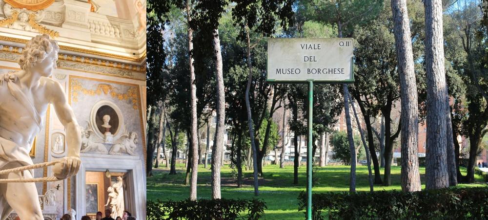 Rom Insidertipps Borghese gallerei und park