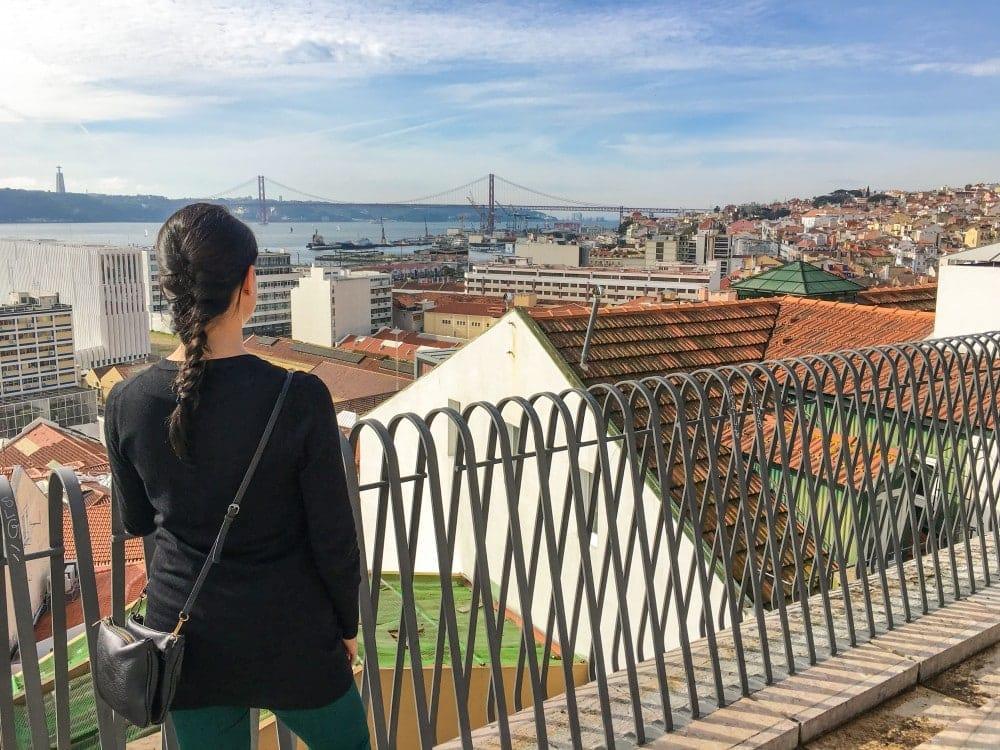 Lissabon Aussichtsplattform