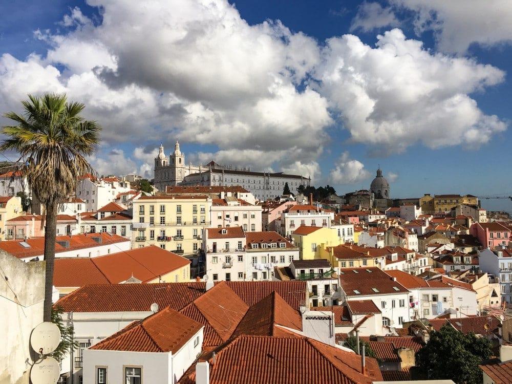 Lissabon Aussichtsplattform2