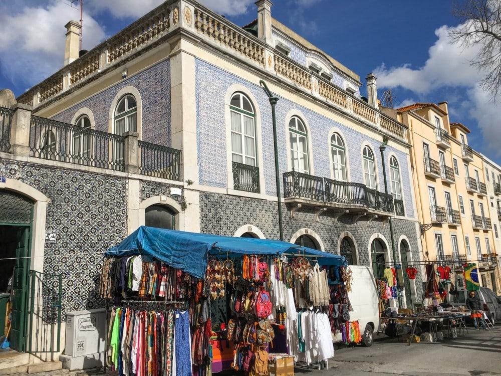 Lissabon Flohmarkt