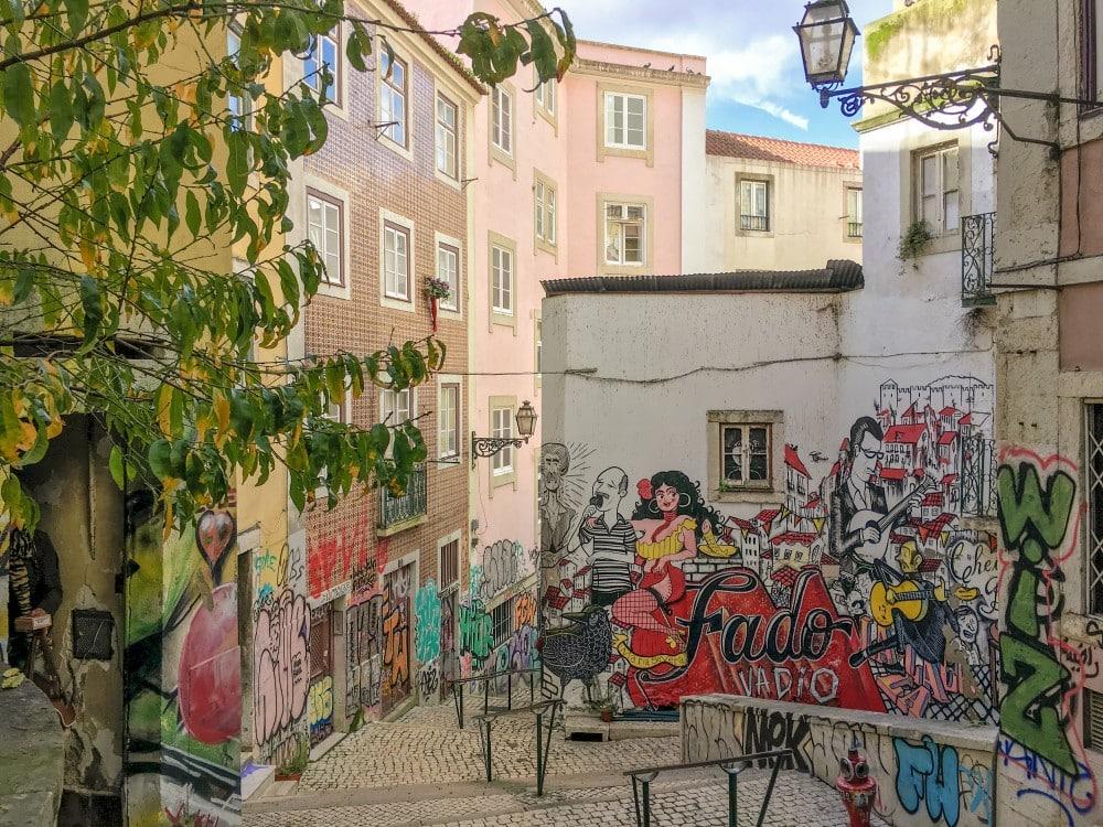 Lissabon Streetart