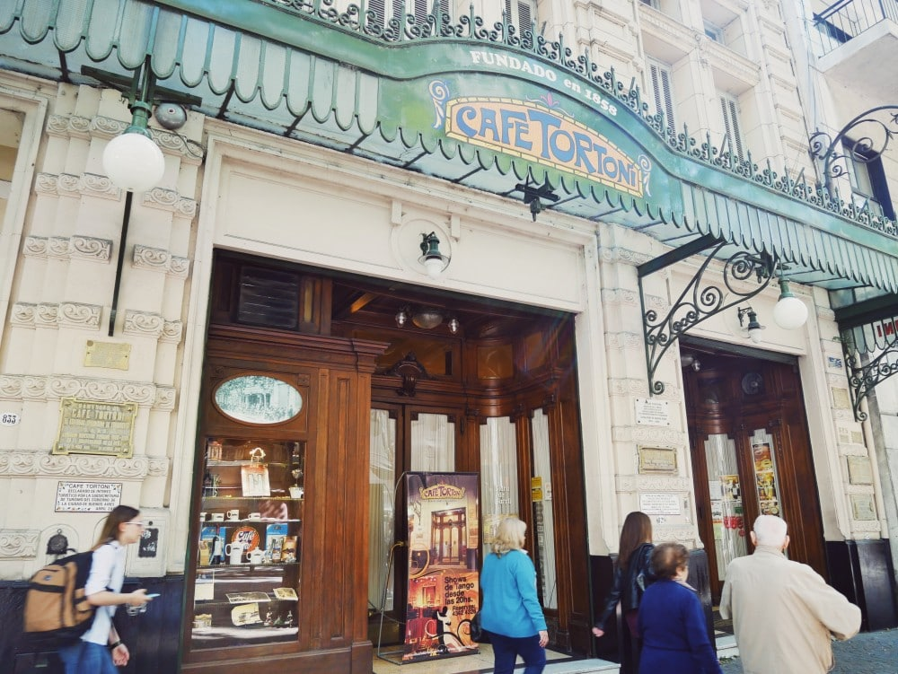 Buenos Aires Insider Tipps Café Tortoni