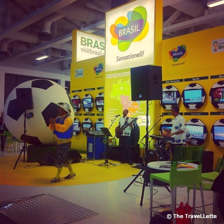 Brasilien Stand ITB Berlin