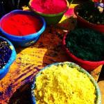 Holi Festival Barcelona Farben