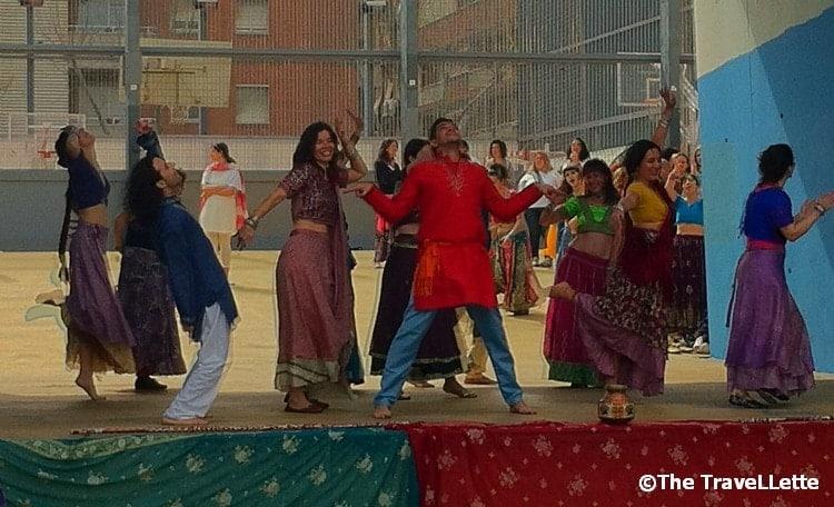 Bollywood Tanz