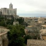 Blick auf Girona