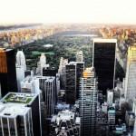 Central Park vom Rockefeller Center