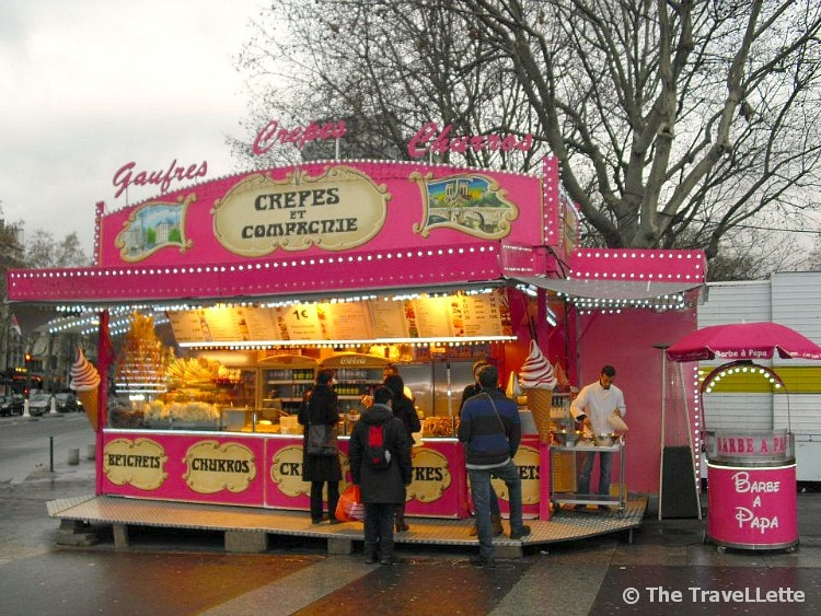 Crêpes-Stand in Paris