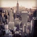 Empire State Building vom Rockefeller Center