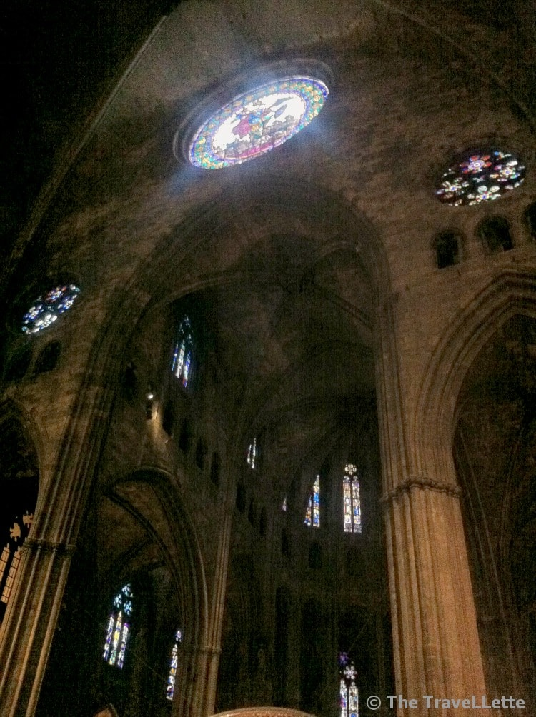 In der Kathedrale Santa Maria in Girona