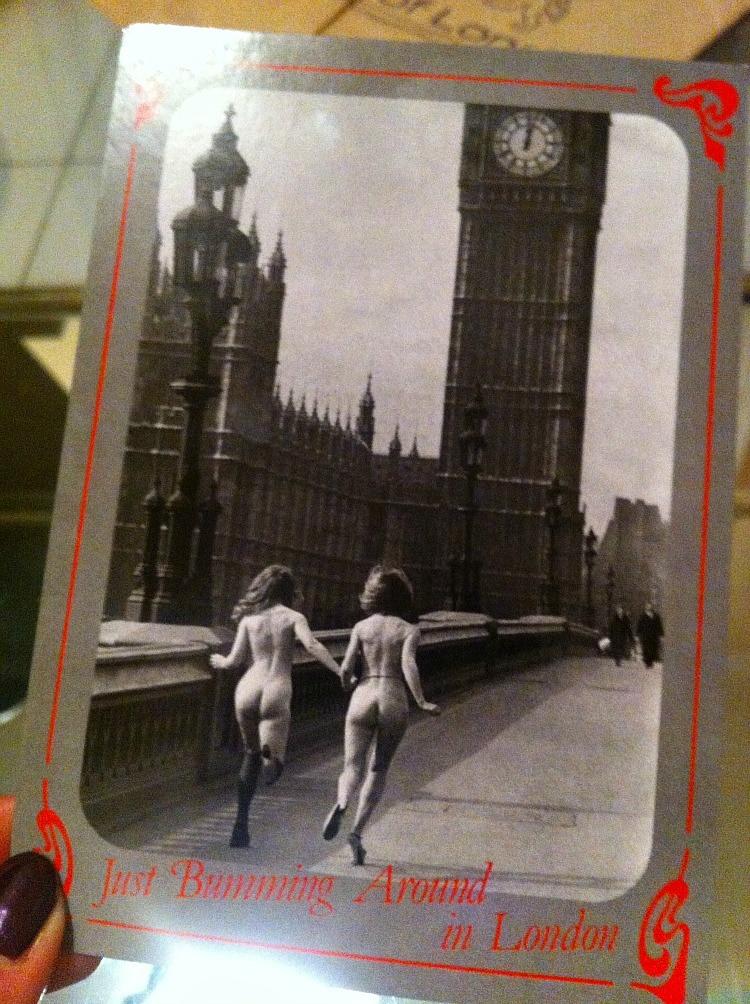 Hässliche Postkarte