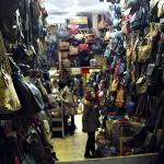 Taschenverkäufer Camden Market