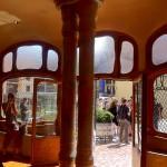 Blick auf die Terrasse Casa Batllo
