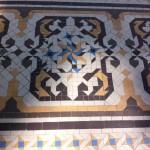 Boden auf der Terrasse Casa Batllo