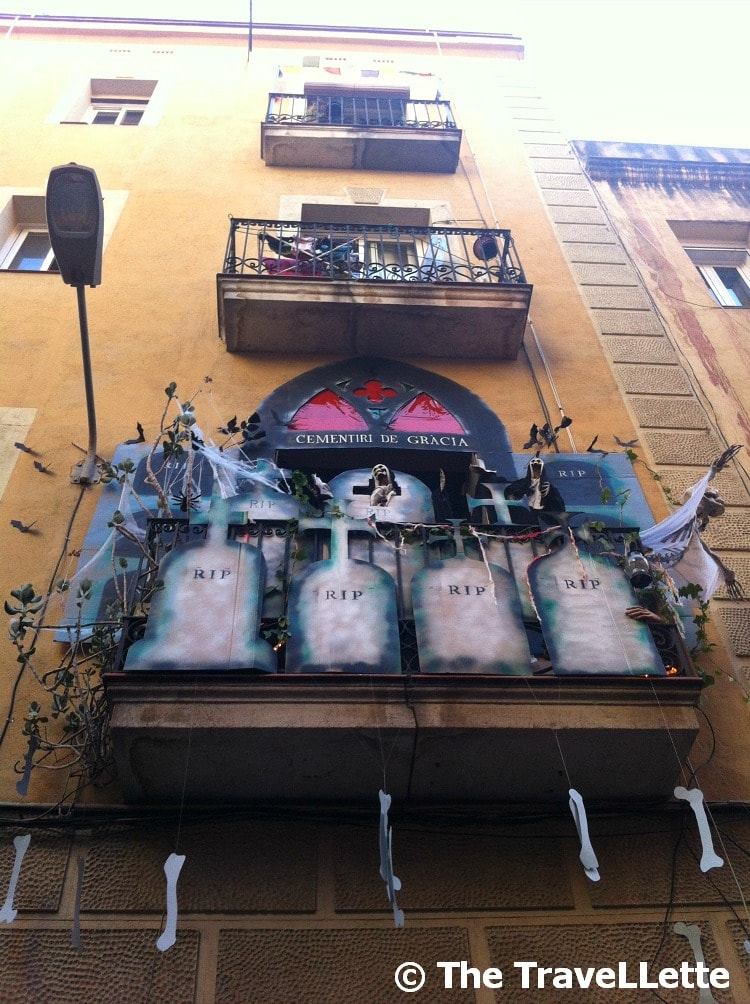 balkon Fiesta de Gracia
