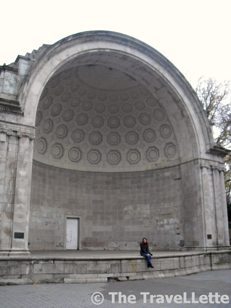 Central Park's Naumburg Bandshell New York
