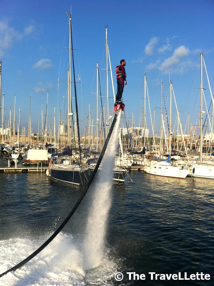FlyBoard La Merce