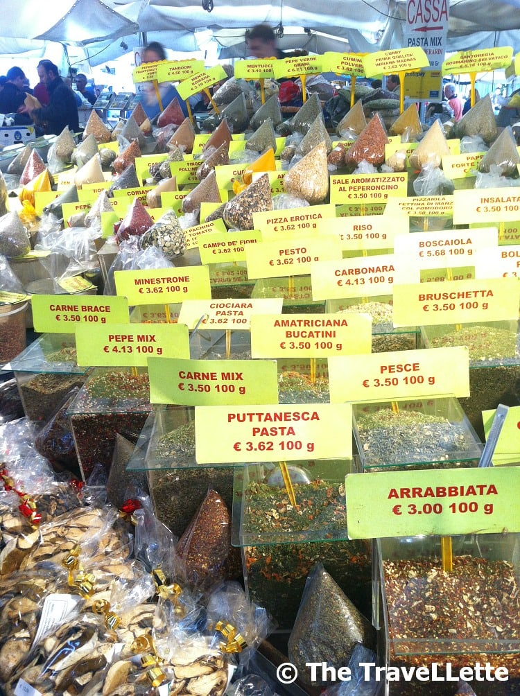 Gewürze Markt Rom